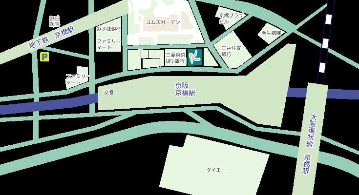 京橋院地図